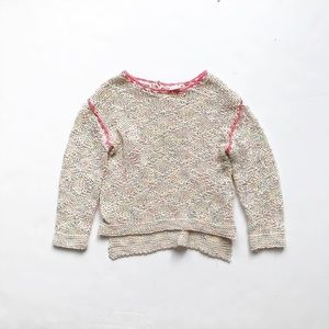 ZARA loose knit pull over sweater EUC 6-9 months